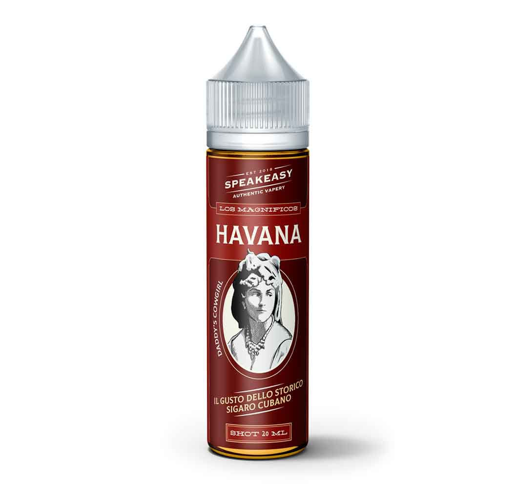 Speakeasy Havana Flavor 20/60ml  Flavor Shot DIY