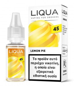 Υγρό αναπλήρωσης Liqua 4S Lemon Pie Hybrid Salt 10ml 20mg