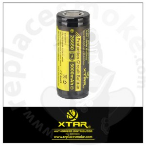 XTAR 26650 5000mAh Protected battery