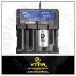 XTAR Charger VP4 Plus Dragon