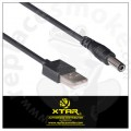 XTAR USB DC Cable for Master (VC2 Plus) and VC4 charger